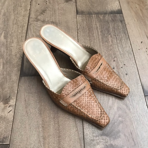 Stuart Weitzman Shoes - Stuart Weitzman Woven Pumps Heels Shoes 7